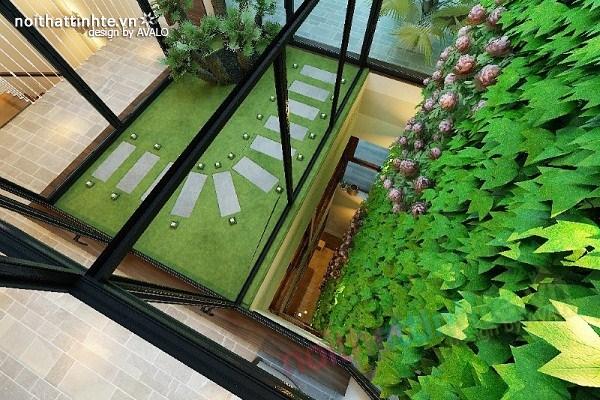 Thiết kế nội thất biệt thự Việt Hưng 15