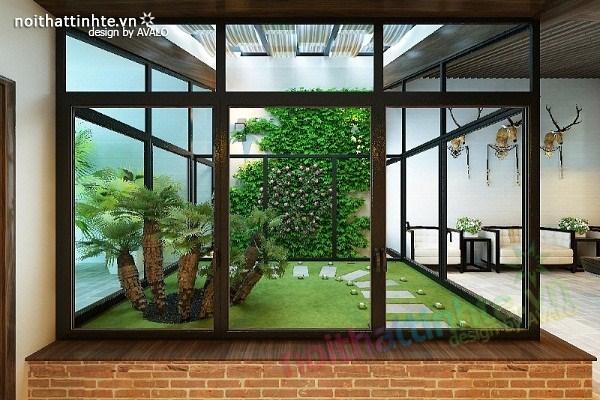 Thiết kế nội thất biệt thự Việt Hưng 17