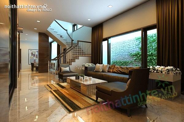Thiết kế nội thất biệt thự Việt Hưng 02