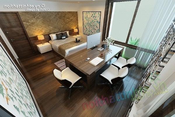 Thiết kế nội thất biệt thự Việt Hưng 24