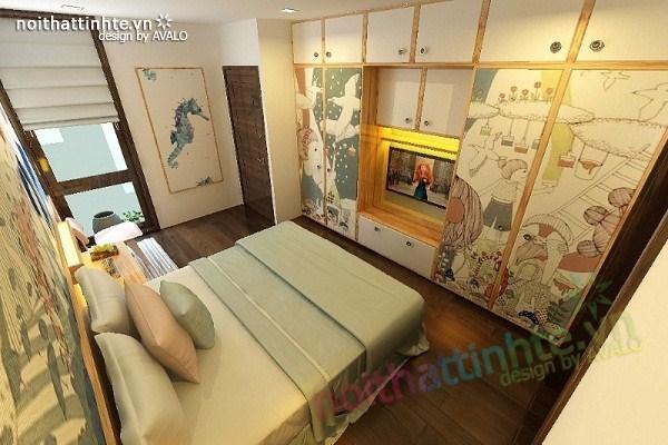 Thiết kế nội thất biệt thự Việt Hưng 26