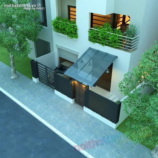 Thiết kế nội thất biệt thự Việt Hưng 27