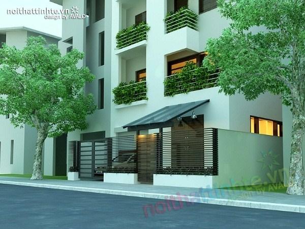 Thiết kế nội thất biệt thự Việt Hưng 28
