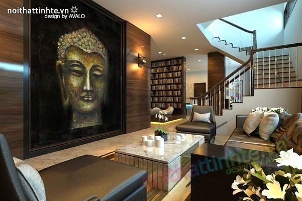 Thiết kế nội thất biệt thự Việt Hưng   Phong cách Đức mạnh mẽ