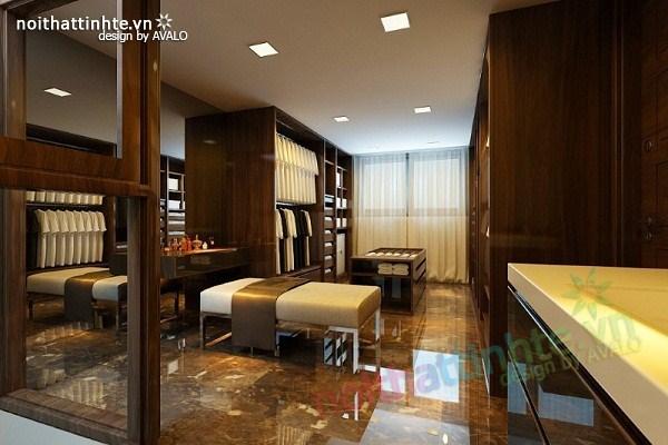 Thiết kế nội thất biệt thự Việt Hưng 30