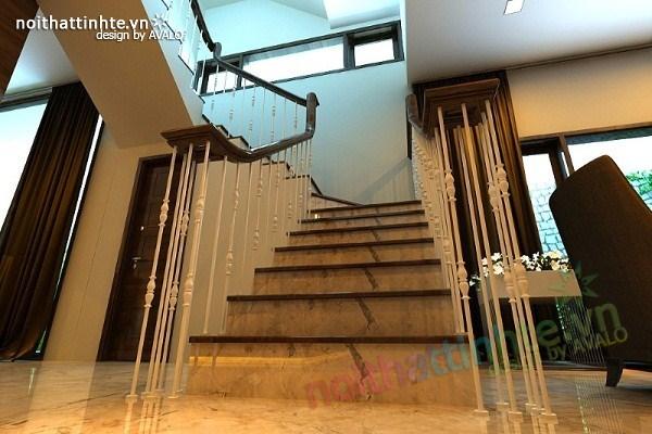 Thiết kế nội thất biệt thự Việt Hưng 04