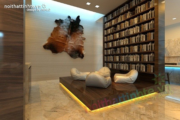 Thiết kế nội thất biệt thự Việt Hưng 05