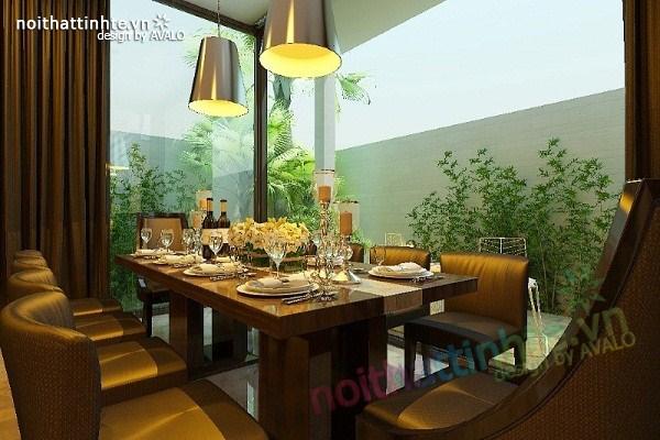 Thiết kế nội thất biệt thự Việt Hưng 06