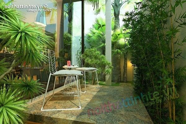 Thiết kế nội thất biệt thự Việt Hưng 07