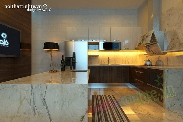 Thiết kế nội thất biệt thự Việt Hưng 08
