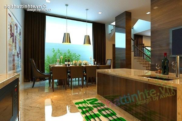 Thiết kế nội thất biệt thự Việt Hưng 09