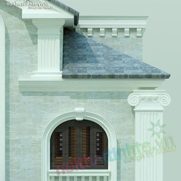Thiết kế nội thất biệt thự anh Nhâm 03