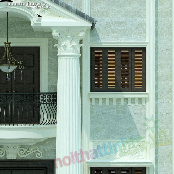 Thiết kế nội thất biệt thự anh Nhâm 04