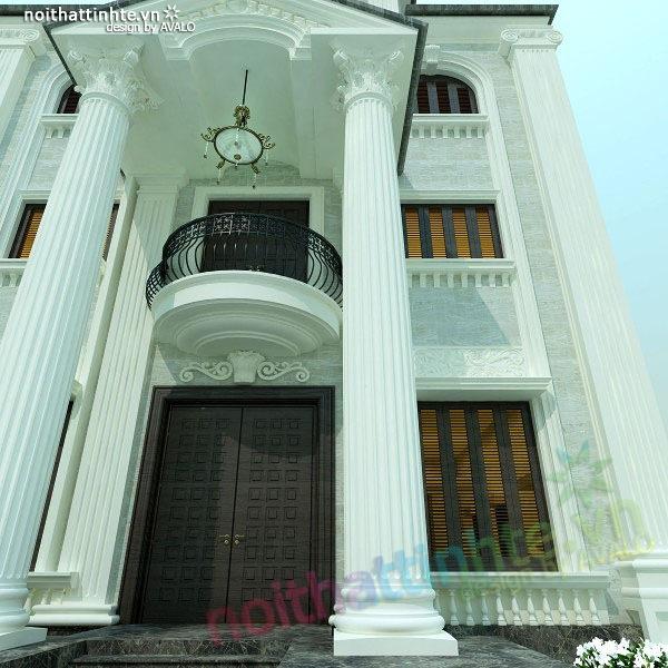 Thiết kế nội thất biệt thự anh Nhâm 06