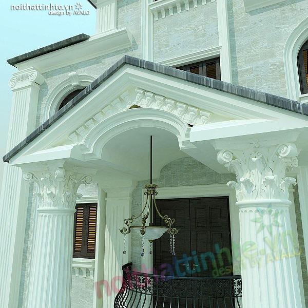 Thiết kế nội thất biệt thự anh Nhâm 07