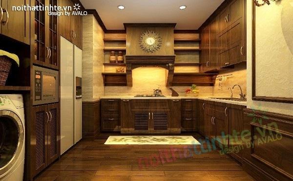 Thiết kế nội thất chung cư Royal city nhà anh Duy 10