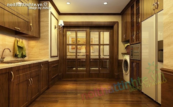 Thiết kế nội thất chung cư Royal city nhà anh Duy 12
