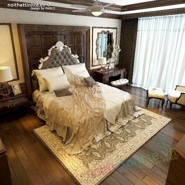 Thiết kế nội thất chung cư Royal city nhà anh Duy 13