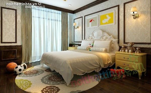 Thiết kế nội thất chung cư Royal city nhà anh Duy 18