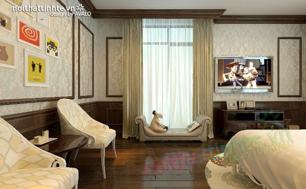 Thiết kế nội thất chung cư Royal city nhà anh Duy 19