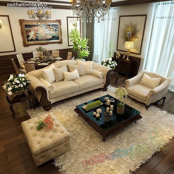 Thiết kế nội thất chung cư Royal city nhà anh Duy 02
