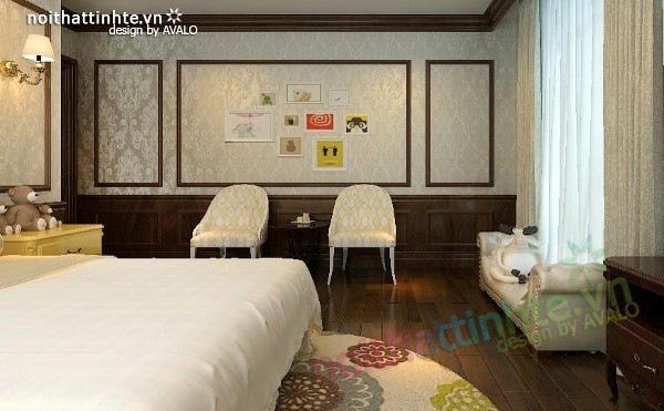 Thiết kế nội thất chung cư Royal city nhà anh Duy 20