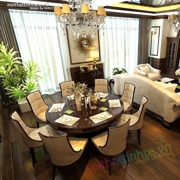 Thiết kế nội thất chung cư Royal city nhà anh Duy 03
