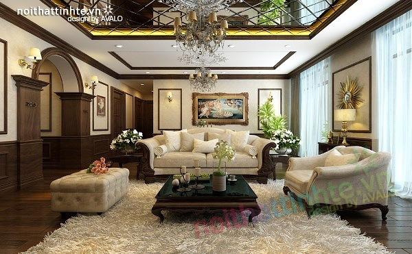 Thiết kế nội thất chung cư Royal city nhà anh Duy 04