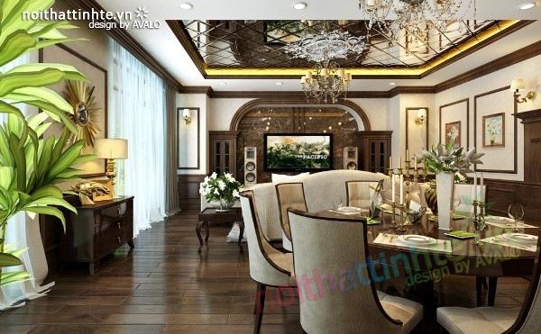 Thiết kế nội thất chung cư Royal city nhà anh Duy 05