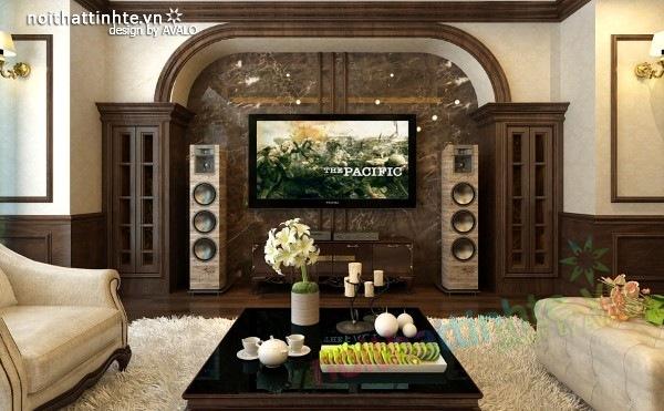Thiết kế nội thất chung cư Royal city nhà anh Duy 06