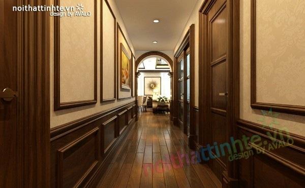 Thiết kế nội thất chung cư Royal city nhà anh Duy 08