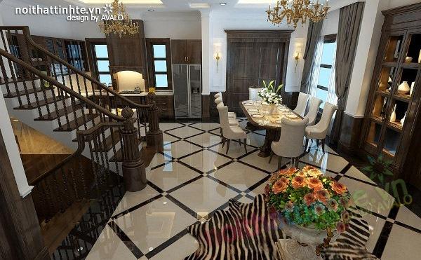 Thiết kế nội thất biệt thự Vincom Village Sài Đồng 04