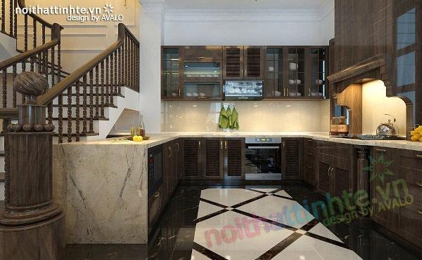 Thiết kế nội thất biệt thự Vincom Village Sài Đồng 07