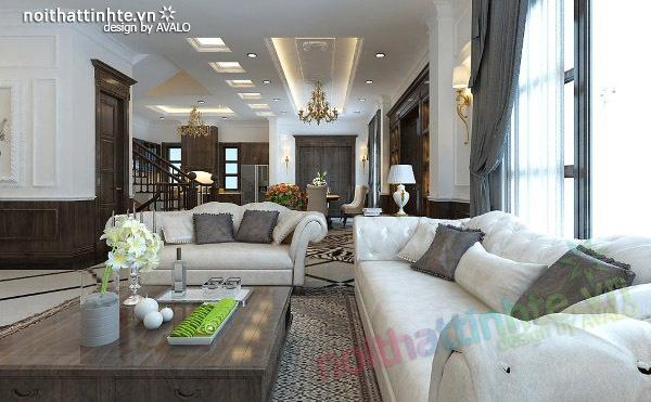 Thiết kế nội thất biệt thự Vincom Village Sài Đồng 09