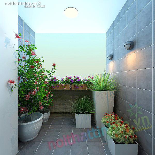 Thiết kế nội thất chung cư 90 m2 nhà anh Hoàng Minh Khai 13