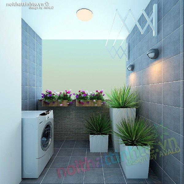 Thiết kế nội thất chung cư 90 m2 nhà anh Hoàng Minh Khai 14