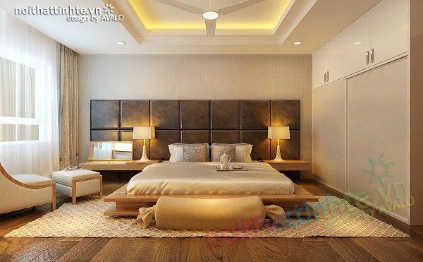 Thiết kế nội thất chung cư 90 m2 nhà anh Hoàng Minh Khai 15