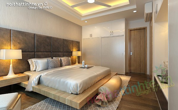 Thiết kế nội thất chung cư 90 m2 nhà anh Hoàng Minh Khai 16