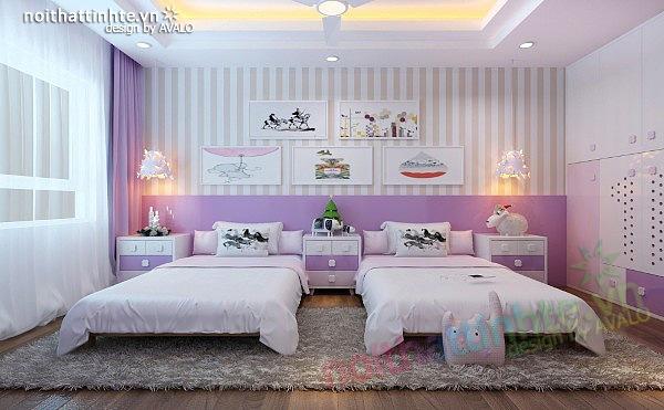 Thiết kế nội thất chung cư 90 m2 nhà anh Hoàng Minh Khai 21