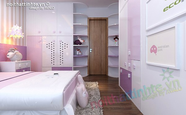 Thiết kế nội thất chung cư 90 m2 nhà anh Hoàng Minh Khai 22