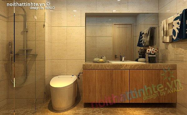 Thiết kế nội thất chung cư 90 m2 nhà anh Hoàng Minh Khai 24