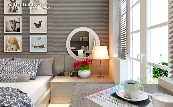 Thiết kế nội thất chung cư đẹp 70 m2 12