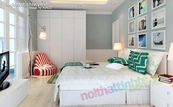 Thiết kế nội thất chung cư đẹp 70 m2 14