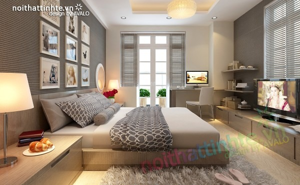 Thiết kế nội thất chung cư đẹp 70 m2 02