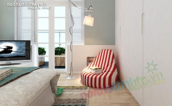 Thiết kế nội thất chung cư đẹp 70 m2 03