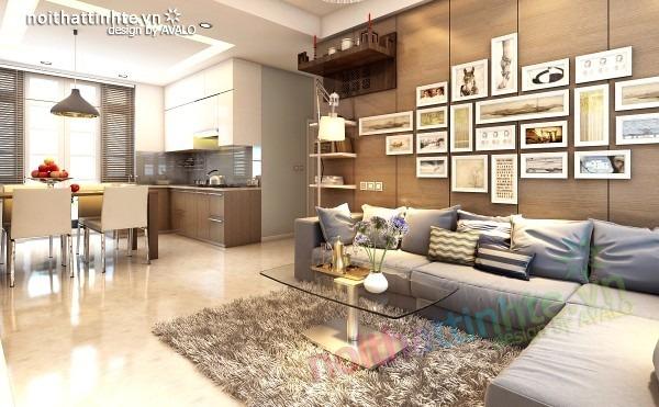 Thiết kế nội thất chung cư đẹp 70 m2 04