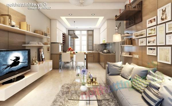Thiết kế nội thất chung cư đẹp 70 m2 06