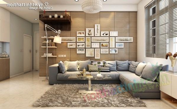 Thiết kế nội thất chung cư đẹp 70 m2 07