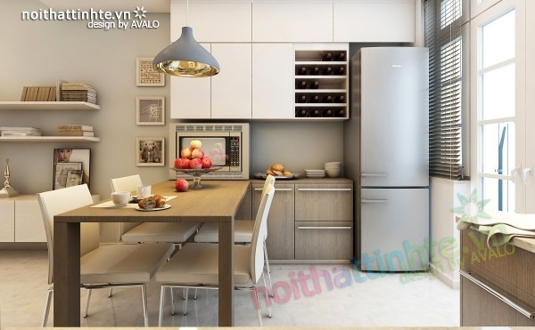 Thiết kế nội thất chung cư đẹp 70 m2 09
