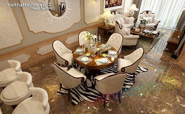 Thiết kế nội thất chung cư Royal city 135 m2 02